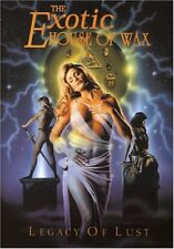 The Exotic House of Wax: Legacy of Lust Director's Cut DVD Sealed #110