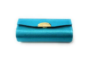 Solid Color Lipstick Case Holder w/ Mirror