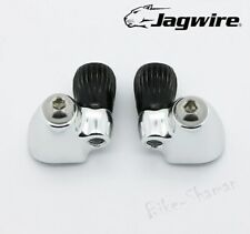 Jagwire STI Downtube Shift Cable Stops Barrel Adjusters for Shimano, Campagnolo