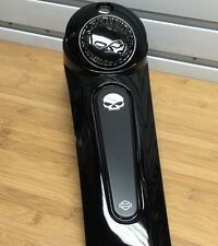 OEM NEW Harley Touring Willie G Skull Fuel Gas Tank Dash Console Insert Only