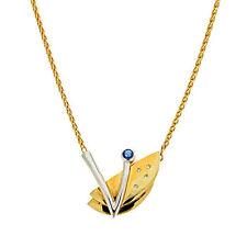 Collier aus mehrfarbigem Gold mit Diamanten