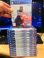 BATTLEFIELD 5 V PS4  PLAYSTATION 4  NUOVO DI ZECCA SIGILLATO ITALIANO PAL 💿