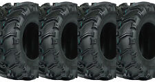 (2) New 25x8-12 & (2) New 25x10-12 Vee Rubber VRM-189 Grizzly 6-Ply ATV Tire Set