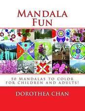 Mandala Fun ORIGINAL EDITION: 50 Mandalas to color for children and adults impar
