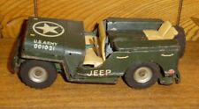 Vintage JUNKER Japan Friction Army Jeep 001031