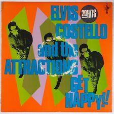 ELVIS COSTELLO and ATTRACTIONS: Get Happy IMPORT Vinyl LP F BEAT UK XXLP1