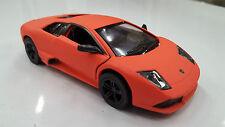 Lamborghini Murcielago Arancione KINSMART giocattolo modello 1/36 pressofuso