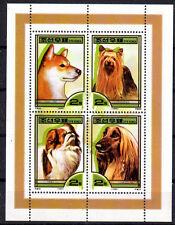 CHIEN Corée 4 val de 1999 cote 14 euro ** DOG HUND CANE