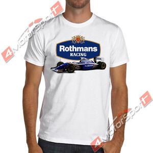 Ayrton Senna F1 1994 Rothmans Williams Renault Racing T-Shirt formula one