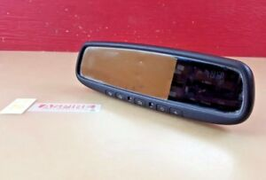 2008-2012 Infiniti EX35 Auto Dim Rear View Mirror W/ Compass And Home Link OEM