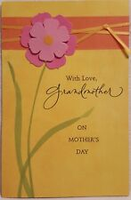 American Greetings Mothers Day Grandmother Floral Greeting Card $6.99