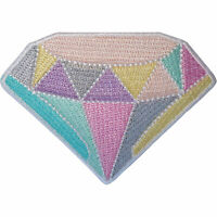 Crystal Patch Iron On Sew On Gemstone Gem Jewel Stone Embroidered Badge Applique