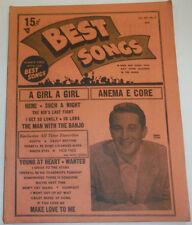 Best Songs Magazine Perry Como Vol.XIV No.5 120614R