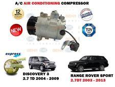 FOR LAND ROVER  2.7 DT JPB000183 LR014064 NEW AC AIR COMPRESSOR