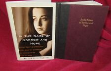 In the NAME of SORROW and HOPE ~ Noa Ben Artzi-Pelossof 1st US HbDj NEW  in MELB