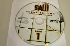 Saw Uncut Edition DVD Disc Only Free Shipping