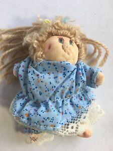 "Rare Vintage 1982 Dan Dee Piggy Wigglies Pig Doll Toy Plush 4"" Small Little Mini"