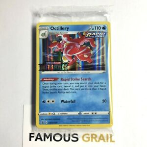 Octillery SWSH089 Rare Holo - Pokemon Battle Styles Prerelease Promo Deck SEALED