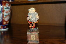 Efteling Holland Gnome Letter B Beard Statue The Laaf Collection 1998 Ltd Ed