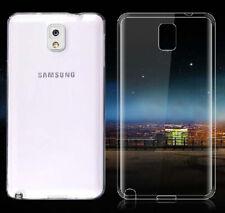2xUltra Thin Clear Gel skin case cover For Samsung Galaxy Note 3 N9000