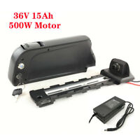 36V 15Ah Li-oin Ebike Battery for 500W Motor Electric Bike with USB and BMS