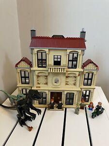LEGO Jurassic World Indoraptor Rampage at Lockwood Estate (75930) - Immaculate