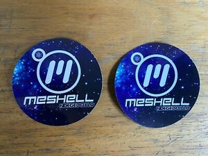 "2 X Meshell Ndegeocello Comfort Woman Promo Stickers 3"" Decal BIN Free Ship WOW"