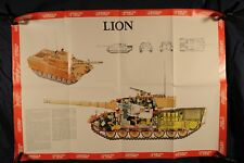 Poster, Lion Tank Specifications, 1976 (386Oz)
