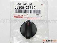 Toyota Tacoma 2001-2004 A/C Heater Knob Genuine OEM    55905-35310