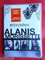dvd dvds alanis morissette vh1 storytellers uninvited head over feet you learn f