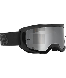 New Fox MX ATV Goggle Main Stray Spark Black W/Mirror Lens 26536-001-OS