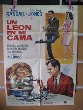 A3922 Un león en mi cama Tony Randall,  Shirley Jones,  Edward Andrews,  Howard