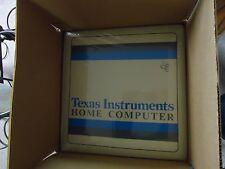NEW NOS TI-99/4A  EDITOR / ASSEMBLER SEALED IN ORIGINAL BOX PHM 3055