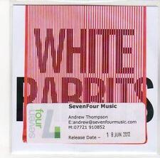 (DL791) White Rabbits, Temporary - 2012 DJ CD