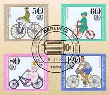 Berlin 1985: Fahrräder! Jugendmarken Nr. 735-738 mit Ersttagsstempel! 1A! 1707