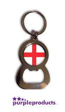 ENGLAND FLAG BOTTLE OPENER KEYRING SIX NATIONS 2016