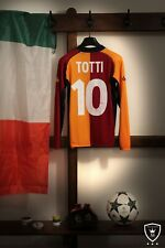 More details for as roma champions league shirt 2001/02 totti #10 (s)