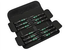 Wera Kraftform micro Juego de destornilladores 12 piezas SL / pH / Hex. / tx