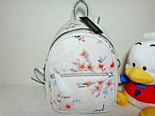 GUESS Pandore Floral Multi White Pink Blue Flower Design Backpack PR672429