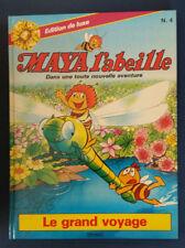 Maya l'Abeille 4 EO Le Grand voyage Dessin animé télévision Difunat Rhodania