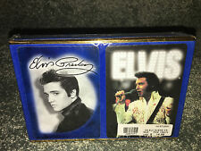 ELVIS PRESLEY Full Size PLAYING CARDS Vintage SET OF 2 DECKS Graceland Image EPE