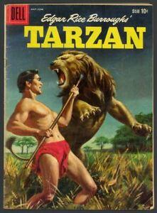 Tarzan #112 - Edgar Rice Burroughs - Silver Age - Dell Comics (1959) VG