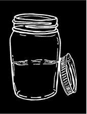 Moonshine Jar Decal /Window/Car/Sticker/Mirror ***AVAILABLE IN 20 COLORS***