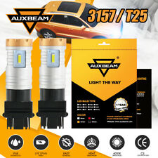 AUXBEAM 4-Sided 3157 T25 20W LED Headlight Bulb Kit 6500K Super Bright Fog Light