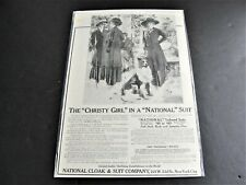 "The ""Christy Girl"" -The Ladies Home Journal 1909 Magazine Page  Advertisement."