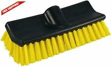 Pro. Waterflow Hard Stiff Bristles Boat Wash Bi-Level Deck Brush Scrub 10-inch
