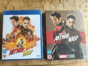Ant-Man and the Wasp (Blu-ray) New & Sealed Collectible Marvel Slip cover