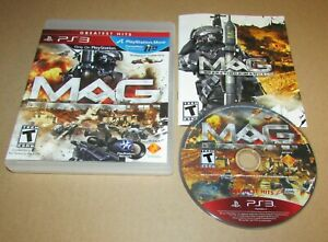 MAG for PlayStation 3 Complete Fast Shipping
