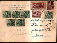 STORIA POSTALE - Cartolina Postale - VEDI SCAN - 11 SP - Re.