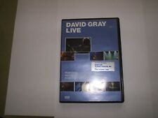 DAVID GRAY LIVE, RECORDED LIVE AT THE PIONT DUBLIN . PLUS THE FILM UP TO A PIONT